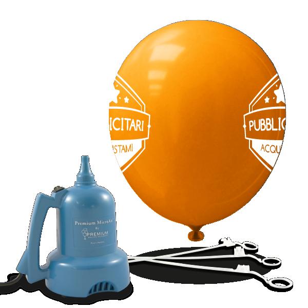 palloncini pubblicitar 2lati-bacchette gonfiatore elettrico