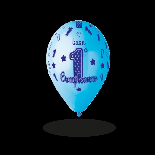 palloncini allaround buon compleanno 1 maschio