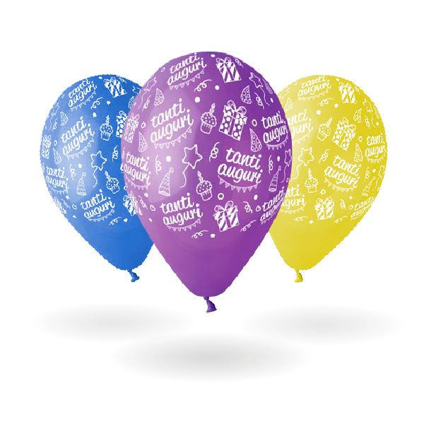 palloncini allaround tanti auguri