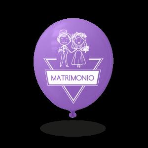 Palloncini personalizzati per matrimonio