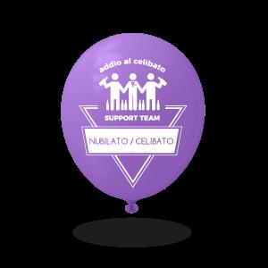 Palloncini personalizzati per addio al nubilato/celibato