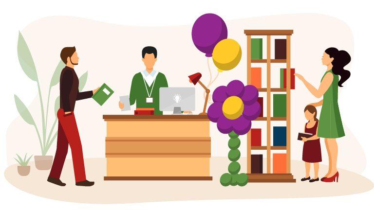 Vetrine per cartoleria e decorazione interni: 3 idee con i palloncini