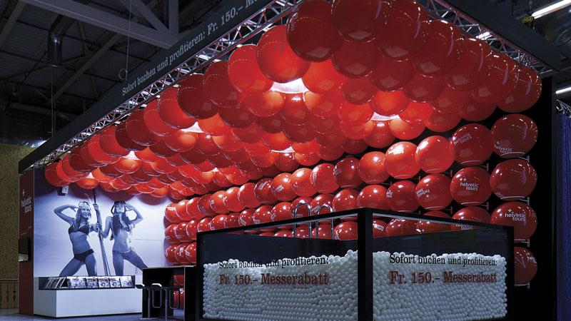Allestire stand con palloncini e identità aziendale - 1