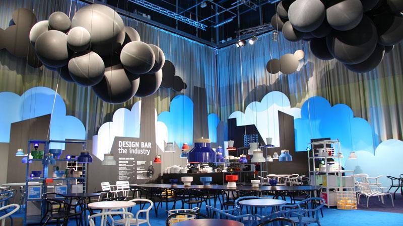 Allestire spazio ristoro con palloncini - 2