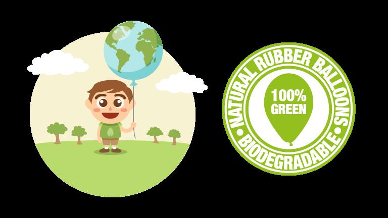 Palloncini biodegradabili: risolviamo tutti i dubbi